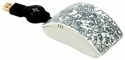Мышь Bodino ALL AROUND MY MOUSE Black-White USB
