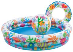 Детский бассейн Intex Fishbowl 59469