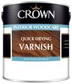 Лак Crown Quick Drying Varnish глянцевый (1 л) акрил-уретановый
