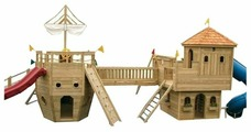 Домик Superior Play Systems Замок Ричард и Корабль Колумб
