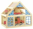 Мир деревянных игрушек кукольный домик №1 Д225
