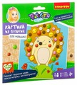 BONDIBON Набор для творчества Картина из пуговиц для малышей Еж (ВВ3101)