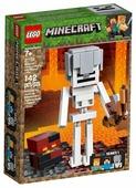 Конструктор LEGO Minecraft 21150 Скелет с кубом магмы