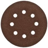 Шлифовальный круг на липучке ЗУБР 35350-125-080 125 мм 5 шт