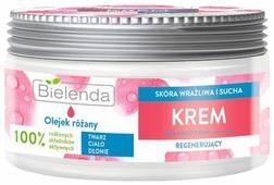 Крем для тела Bielenda универсальный регенерирующий, розовое масло