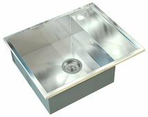 Врезная кухонная мойка ZorG INOX X-6050 60х50см нержавеющая сталь
