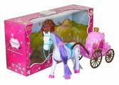 Zhorya карета с лошадкой Сказочное королевство (ZY276410)