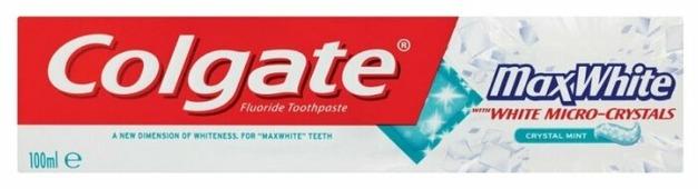 Зубная паста Colgate Max White Crystal Mint