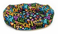 Лежак для кошек PRIDE Крейзи Кэт (10011181) 50х40х18 см