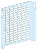 Фигурная перфорированная плата, 6 модулей, Ш=250мм, для шкафа Schneider Electric, 03177