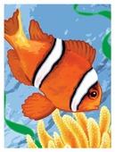 "Royal & Langnickel Картина по номерам ""Рыба-Клоун"" 22x29 см (PJS 56)"