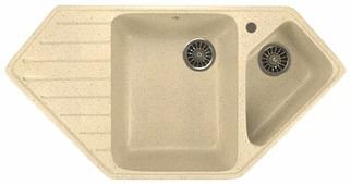 Врезная кухонная мойка Mixline ML-GM25 97х50см искусственный мрамор