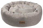 Лежак для собак Гамма Кижи овальная 50х50х16 см