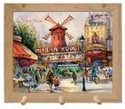 Вешалка Gift'n'Home для полотенец Париж, Париж 3 крючка