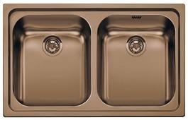 Врезная кухонная мойка smeg SP792RA2 79х50см нержавеющая сталь