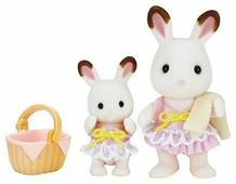 Игровой набор Sylvanian Families Кролики в купальных костюмах 5233