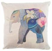 Чехол для подушки Pastel Слон синий 45х45 см (1315513)