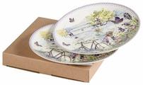 Gift'n'Home Набор тарелок Лаванда 2 шт 20 см
