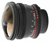 Объектив Samyang 8mm T3.8 AS IF UMC Fish-eye CS II VDSLR Nikon F