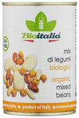 Смесь бобов Bioitalia, жестяная банка 400 г