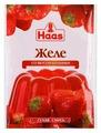 Смесь для варенья и желе Haas Со вкусом Клубники 54 г