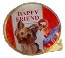Корм для собак Happy Friend ягненок 125г