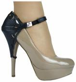 Автопятка Heel Mate de Luxe Узорная для женской обуви на каблуке, натуральная кожа