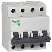 Автоматический выключатель Schneider Electric Easy 9 4P (C) 4,5kA