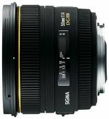 Объектив Sigma AF 50mm f/1.4 EX DG HSM Nikon F