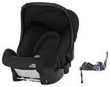 Автокресло группа 0+ (до 13 кг) BRITAX ROMER Baby-Safe + Belted Base