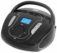 Mystery BM-6008UB черный/серебристый 3Вт/MP3/FM(dig)/USB/BT/SD