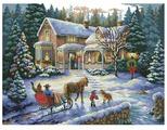Белоснежка Набор для вышивания Встреча рождества 47 x 35 см (4145)