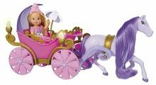 Набор Simba Еви в карете с лошадью 12 см 5735754