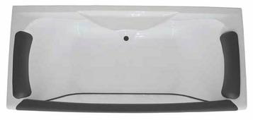 Ванна 1Marka AIMA Design Dolce Vita 170x75 акрил угловая