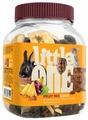Лакомство для кроликов, грызунов Little One Snack Fruit mix