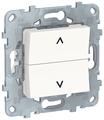 Кнопочный выключатель (кнопка) Schneider Electric NU520718,6А, белый