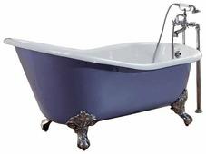 Ванна recor Slipper 154x76 чугун