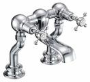 Смеситель для ванны Burlington Claremont Regent CLR23 двухрычажный встраиваемый хром