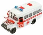 Микроавтобус ТЕХНОПАРК КАвЗ Передвижной госпиталь (CT10-069-2) 1:43 14 см