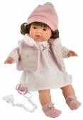 Интерактивная кукла Llorens Лола в бело-розовом 38 см L 38552