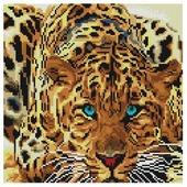 Белоснежка Набор алмазной вышивки Леопард (088-ST-S) 30x30 см