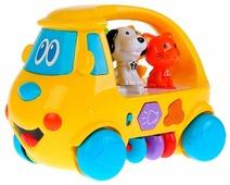 Каталка-игрушка Умка Развивающий автобус (ZY419558-R)