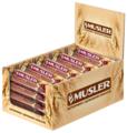 Злаковый батончик Musler в белой глазури Вишня и йогурт, 25 шт