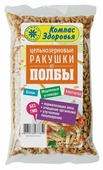 Компас Здоровья Макароны ракушки из полбы цельнозерновые, 350 г