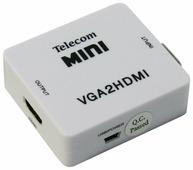 Конвертер Telecom VGA + 3.5 Jack - HDMI (TTC4025)
