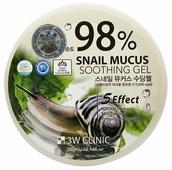 Гель для тела 3W Clinic многофункциональный со 98% экстрактом слизи улитки Snail Soothing Gel