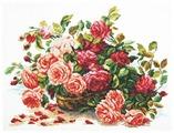 Чудесная Игла Набор для вышивания Королевские розы 38 x 28 см (40-38)