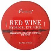 Esthetic House Гидрогелевые патчи для век с экстрактом красного вина Red Wine Hydrogel Eye Patch
