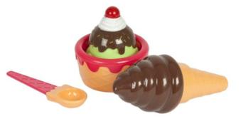 Набор продуктов с посудой Mary Poppins Шоколадное мороженое 453053
