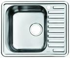 Врезная кухонная мойка IDDIS Strit STR58SLi77 58.5х48.5см нержавеющая сталь